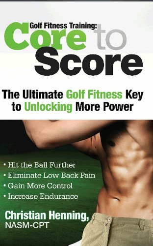 A2w Ebook Golf Fitness Training Core To Score By Christian