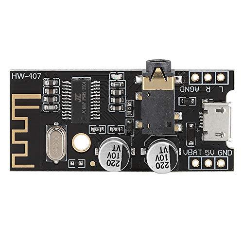 Drahtlose Bluetooth 4.2-Audioempfängerplatine, Reichweite des drahtlosen Stereo-Soundmoduls 10 m und Stromversorgung über DC 3,7V-5V USB, verlustfreier Decoder für Raspberry Pi
