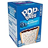 Pop-Tarts, Breakfast Toaster Pastries, Frosted Blueberry, Proudly Baked in the USA, 8 Toaster Pastries, 13.5 Ounce, Pack of 8