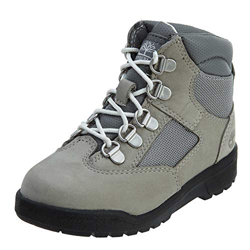 Timberland Toddler 6 Inch Leather Boots Light Grey (12)