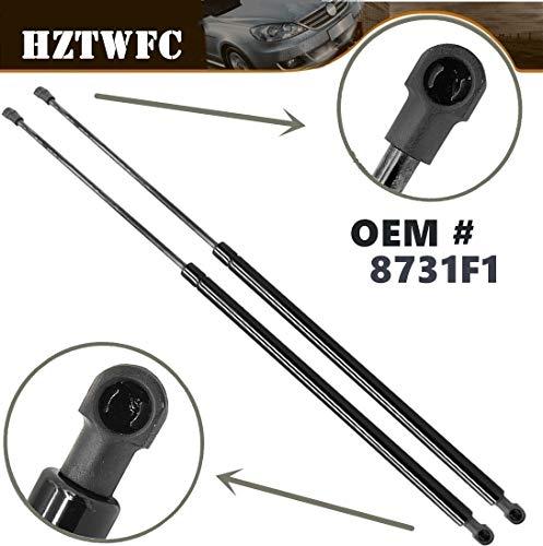 HZTWFC El elevador de la puerta trasera del coche de 2 piezas admite puntales de gas OEM # 8731F1 Para Citroen Xsara Picasso 1999-2009