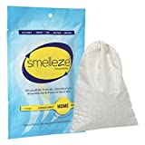 SMELLEZE Reusable Home Smell Removal Deodorizer Pouch: Rids Stinky Odor Without Scents Treats 150 Sq. Ft.