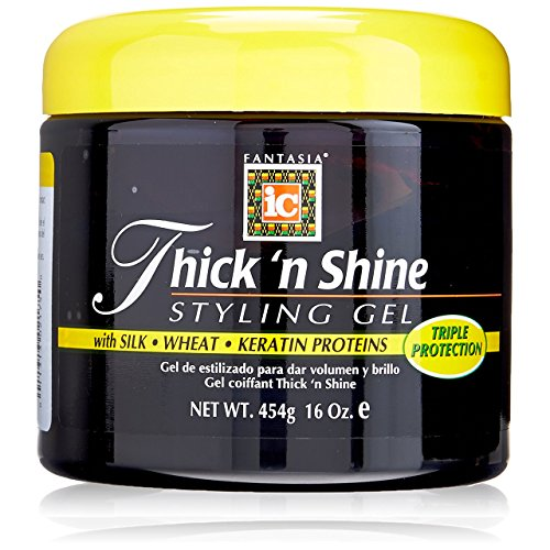 Price comparison product image Fantasia Thick 'n Shine Styling Gel,  16 Oz