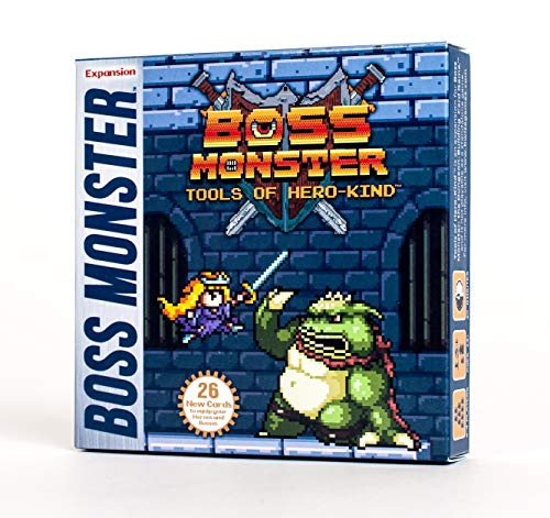 Brotherwise Games - 330133 - Boss Monster - Tools of Héro Kind Boxed Card Game Expansion