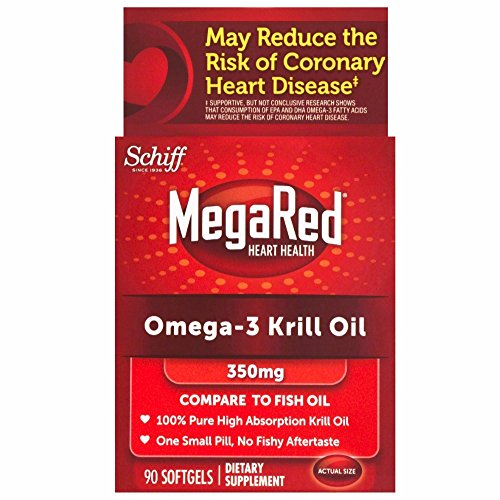 Schiff MegaRed Omega-3 Krill Oil 300 mg-90 Softgels