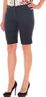 4f415e4ade5da0 Emanuela Costa Bermuda Skinny Donna in Cotone Stretch Taglia Morbida