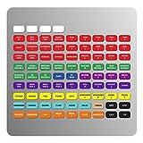 Etiquetas magnéticas para Allen & Heath qu-16/24/32 mezclado