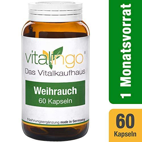 Incienso pastillas–180incienso pastillas de vitalingo á 400mg. Per comprimido: Boswellia...