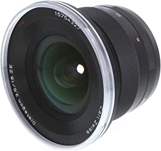 Zeiss 18mm f/3.5 Distagon T ZE Series Lens for Canon EOS Digital SLR Cameras (Renewed)