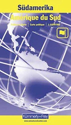 Kümmerly & Frey Karten, Südamerika politisch
