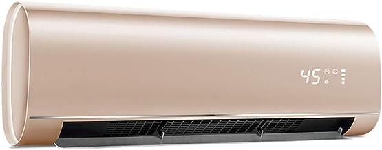 Radiador Calefactor Pared,Mando a Distancia, Elemento calefactor PTC cerámico de alta eficiencia 3300W,Apto para 40 metros cuadrados.,8 horas de tiempo,Temperatura preestablecida adecuado para el h