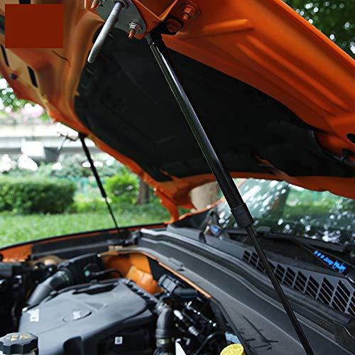 per Renegade 2015-2019 Ammortizzatori cofano motore Nero 2 Pezzi