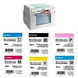 Fujifilm Frontier-S DX100 Inkjet Photo Printer - with Ink Bundle Consists of Fuji DX VIVIDIA Ink Cartridge 200 ML Black/Cyan/Magenta/Yellow/SkyBlue/Pink