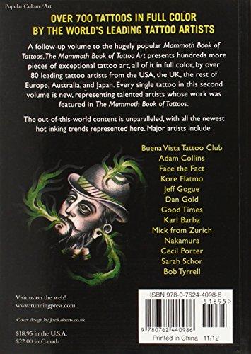 The Mammoth Book of Tattoo Art