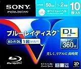 ソニー ブルーレイディスク BD‐R DL 360分 袋10枚