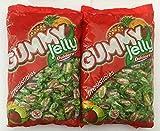 Dulciora Gummy Jelly Caramelos Gominolas Masticables Sin Gluten • Pack 2 x Bolsa 2 kg + Regalo Bolsa Maiz para Palomitas Oro del Mediterráneo 500 g