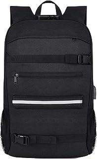 Guangcailun Outdoor Anti-Theft Skateboard Laptop Backpack Sacchetto Impermeabile di Grande capienza Sacchetto di Viaggio c...