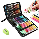 Intsun 72 Coloured Pencil Set, Professional Watercolour Pencils Drawing Pencils Art Set