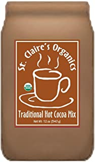 St. Claire's Organic Hot Cocoa, Traditional, 12 oz. Bag (20 servings)