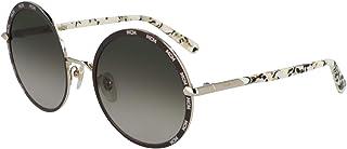 ام سي ام نظارة شمسية دائري للنساء - اسود , MCM127S-722-55