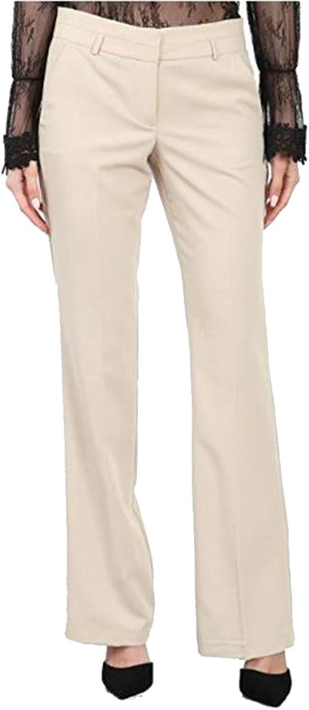 Maryclan Career Women's Dress Pants Little Boot But with Narrow Belt Loop(P4205)