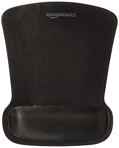 Amazon Basics Gel Computer Mouse Pad with Wrist Support Rest