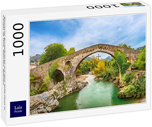 Lais Puzzle El Puente Romano jorobado sobre el río Sella