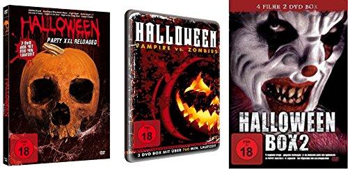 20 Horrorfilme HALLOWEEN Box Collection PUPPET MASTER * VAN HELSING * HAUNTING OF WINCHESTER HOUSE * FRIGHT NIGHT .. Splatter Zombies Vampire & Dämonen Kult & Klassiker DVD Collection
