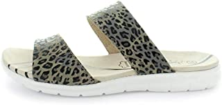 JUST BEE Century Leopard Size 40 Unisex Slide, Leopard, 40 EU