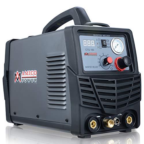 AMICO CTS-180, 180-Amp HF-Start TIG and 160-Amp Stick Welder, 40-Amp...