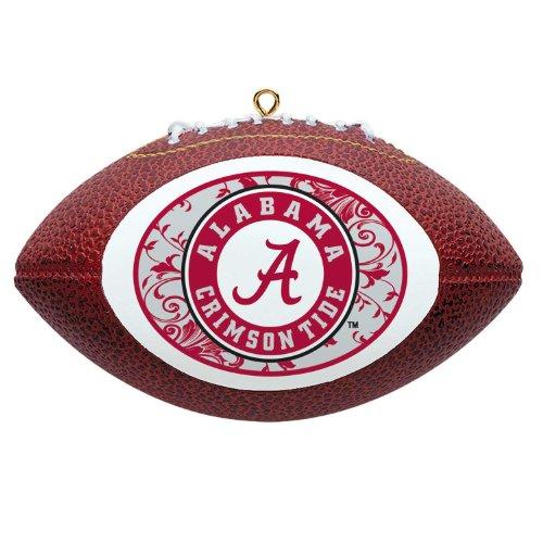 NCAA Alabama Crimson Tide Mini Replica Football Ornament