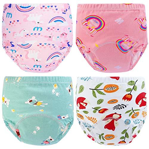 KEREDA Potty Training Pants, 4 Pack Baby Toddler Boys Girls Training...