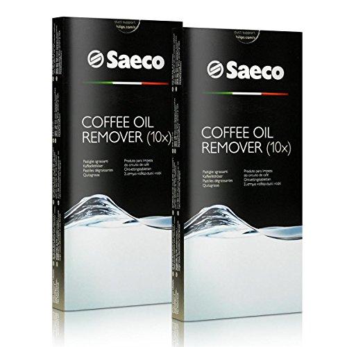 2x Saeco Kaffeefettlöser Tabletten - für Kaffeevollautomaten - CA6704/99 - 10 Tabletten