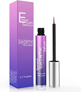 PHOEBE Eyelash Growth Serum,Lavish Lash Growth Serum Lash Boost Enhancer-for Longer,Thicker Natural Lashes & Eyebrow-Hypoallergenic(5ml)