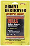 The Giant Destroyer (GAS KILLER) (12/4PK TOTAL) 48 kills Moles, Gophers, Woodchucks, Norway Rats,...