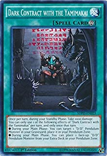 Yu-Gi-Oh - Dark Contract with the Yamimakai - SDPD-EN023 - Common - 1st Edition - Pendulum Domination Structure Deck