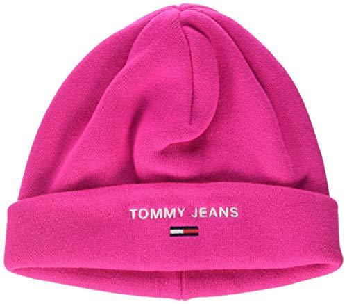 Tommy Jeans dames Tjw Sport Beanie pet, roze (Pink Tz7), One Size