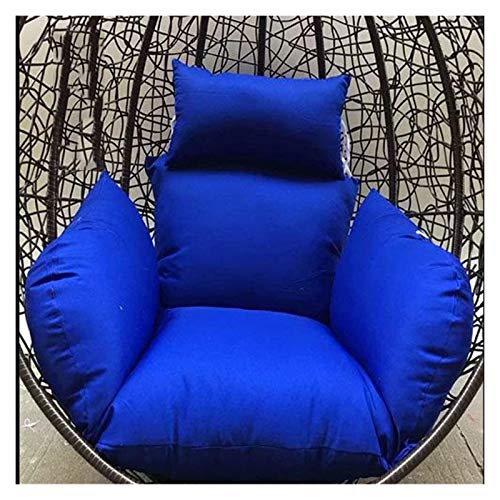 Home Decoration Swing Chair Cushion Hanging Egg Swing Chair Cushion/Thick Swing Basket Hanging Cushion/Hanging Rattan Chair Rocking Chair Cushion,Removable and Washable Hanging Basket Furniture Cushio