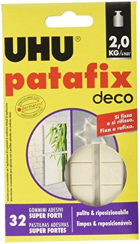 UHU 237698 Patafix, Confezione da 32 Pezzi