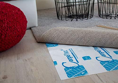 Unbekannt Teppichunterlage- Carpetex Gitter 1.00 x 0.90 m Doppelseitigklebbar hochwertige Anti-Rutsch-Unterlage, Teppiche