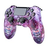 Xcmenl Wireless Controller für PS4 Slim/PS4 Pro,USB Controller für PC,Bluetooth Gamepad mit Dual-Vibration Audiofunktionen Playstation Controller Joystick - TP1057