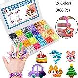 Abalorios Cuentas de Agua 3600 Perlas 24 Colors Juego de Bolas de...