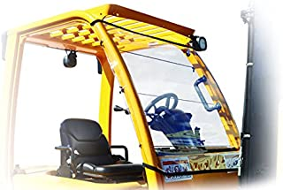 Forkshield Forklift Universal Clear Canopy Cover - Windshield & Rain Cover