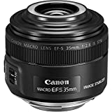 Canon 2220C002 EF-S 35 mm f/2.8 Macro IS STM Camera Lens - Black