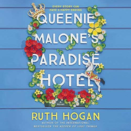 Queenie Malone's Paradise Hotel audiobook cover art