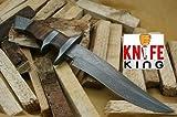 Knife King 'Emperor Custom Damascus Handmade Hunting Knife Comes with a Sheath.