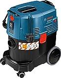 Bosch Professional Aspirateur pour solides et liquides GAS 35 L SFC+ (1380 W, Contenance brute de la cuve : 35L, avec accessoires)