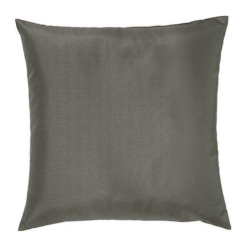 IKEA ULLKAKTUS Kissen Dunkelgrau, 50x50 cm, Polyesterfüllung