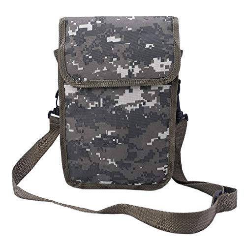 Metal Detector Bag Camo Oxford Waist Shoulder Belt Pouch Good Luck Gold Nugget Bags for Metal Detecting - Reinly