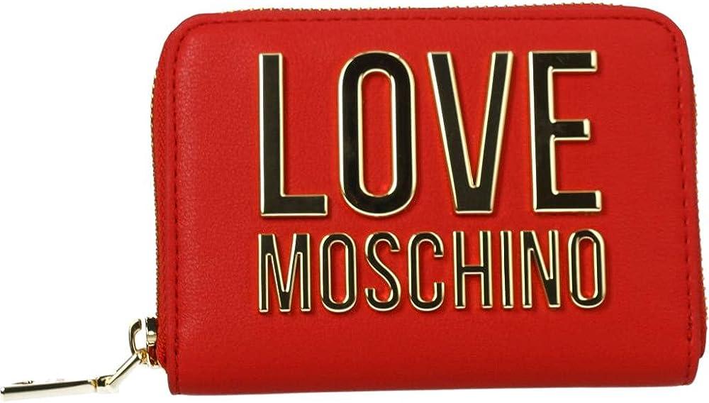 Portafoglio love moschino in ecopelle porta carte di credito per donna 1044412_FR